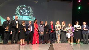Altın Ege Ödülleri Düzenlenen Görkemli Gecede Sahiplerini Buldu