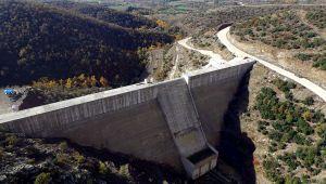 Manisa Ahmetli Kelebek Barajı'nda Su Tutulmaya Hazırlanıyor