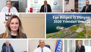Ege Bölgesi İş Dünyası 2020 Yılından Umutlu