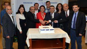 Ekonomi Muhabirleri Derneği Üyeleri Yeni Yılı Kutladı