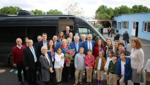 Uluslararası Rotary Başkanı İzmir'de Temaslarda Bulundu