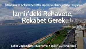 İzmir Ekonomisinin Gelişmesi İçin Rekabet Ortamı Artacak