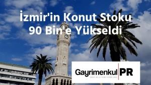 İzmir'in Konut Stoku 90 Bin'e Yükseldi