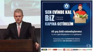 İZTO'dan 'Sen Evinde Kal, Biz Kapındayız' Kampanyası