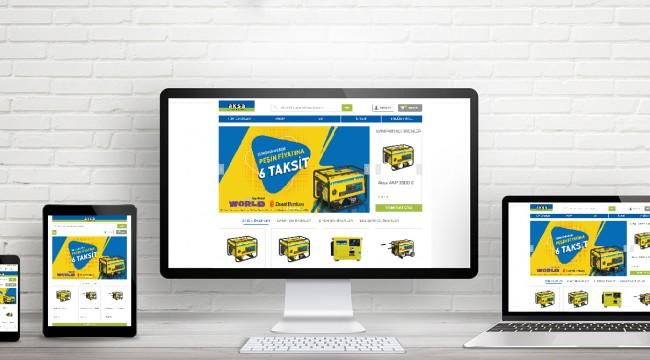 Online Jeneratör Satış Sitesi Yayında