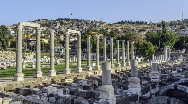 İzmir Belediyesi'nden Torbalı Olympos Kazısına Destek