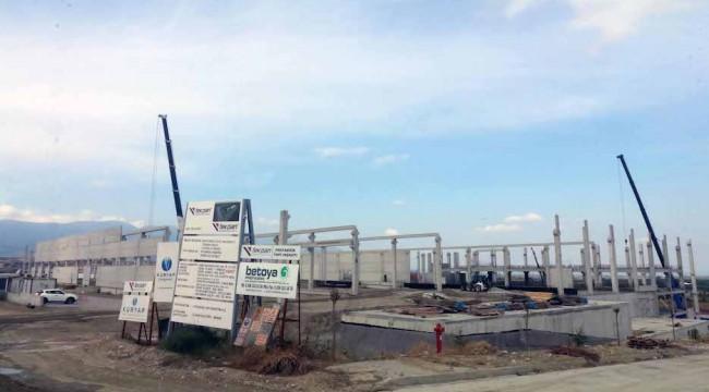 Bağyurdu OSB'de 100 Bin Metrekare Alanda İnşaat Sürüyor