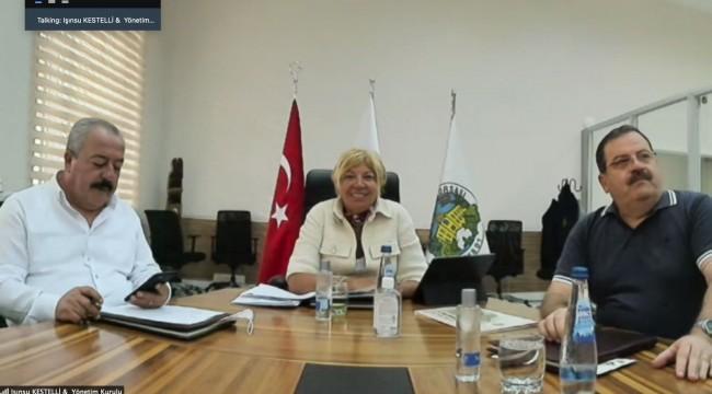 İzmir Ticaret Borsası Meclis Toplantısında Gündem Kuraklık