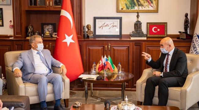 Tataristan ve İzmir Arasında Ekonomik İlişkiler Artırılacak