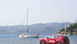 Maxima, Akdeniz'den Ege'ye Uzanan Rotada Denendi