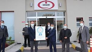 Ersem Manisa 'Güvenli İşyeri Sertifikası' Aldı