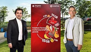 Vodafone, Online Süpermarket Alışverişini Sahiplendi