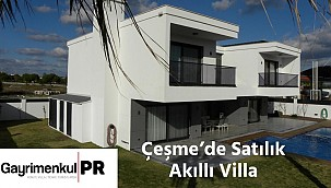 Çeşme'de Satılık Akıllı Villa