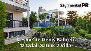 Çeşme'de Tam Müstakil Satılık 2 Villa