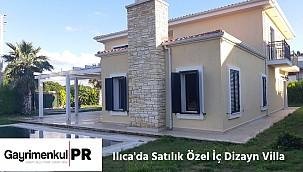 Ilıca'da Satılık Özel İç Dizayn Lüks Villa