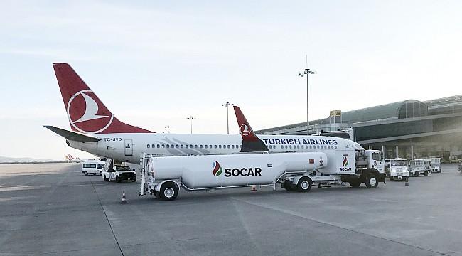 İzmir Havalimanında Yakıt Tedarikini SOCAR Yapacak