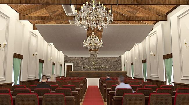 Konak Belediye Meclis Binası Yapım Aşamasına Geçiyor