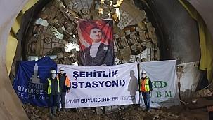 Narlıdere Metro Tünel Kazılarının Yüzde 74'ü Tamamlandı