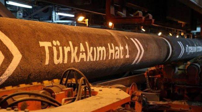 TürkAkım üzerinden doğal gaz sevkiyatı 2.2 kat arttı
