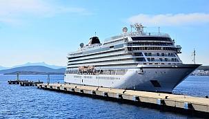 Bodrum Cruise Port, Viking Sea gemisini ağırladı
