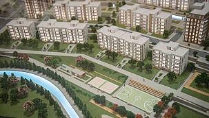 İzmir'de 10 Bin Konut Modern Bir Şehir Kuruluyor