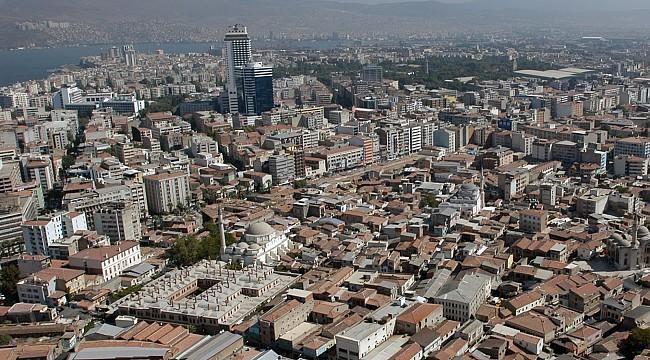 İzmir'de yaşlı konut sayısı 510 bin