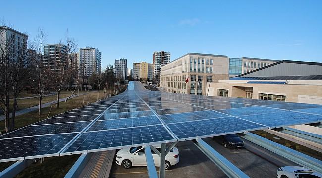 1 yılda 1 milyon TL'lik güneş enerjisi üretimi