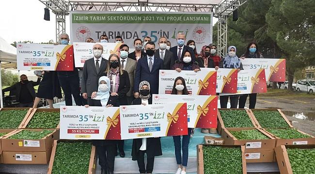 Bakan Pakdemirli, İzmir'de hayata geçirecekleri 35 projeyi açıkladı